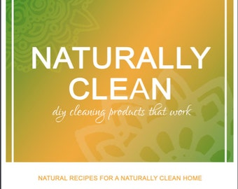 DIY Natural Cleaning Products Recipe Booklet