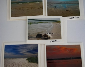 Goose Rocks Beach Greeting Card Set