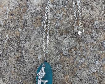 Mermaid Sea Glass Necklace