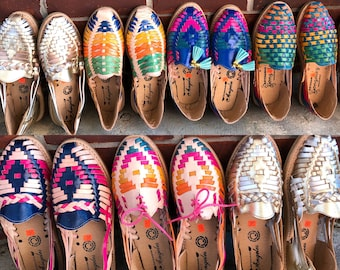 Mexican leather huaraches size 6-6.5