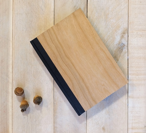 Natural Wood Journal or Sketchbook