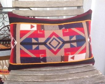 Wine Country Geometric Pillow