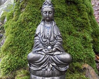Large Kwan-Yin Statue,Goddess of Compassion Kwan Yin,Kuan Yin,Kwan Yin,Quan Yin Goddess Statue,Quan Yin Statue,Goddess Energy