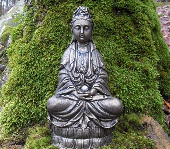Large Kwan Yin Statue Goddess Of Compassion Quan Yin Kuan