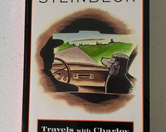 Travels With Charlie-In Search of America Book by John Steinbeck