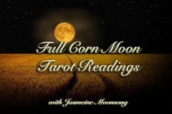 Full Corn Moon Tarot Reading
