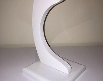 Headphone Stand: Gloss White