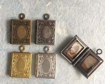 10x mini Book LOCKET 14x10 mm  - Code 293.692