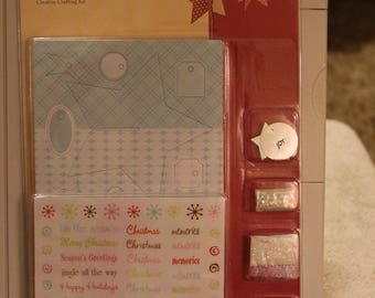 Free Shipping!  Colorbok Gallery J  3D Star Ornaments Creative Crafting Kit - #41584 - Makes 8 3D Ornaments - New in Package - SNSC