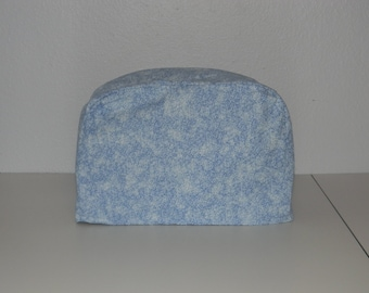 Two Slice Toaster Cover - Light Blue Print