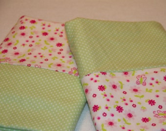 Polka Dot and Floral Pillowcases
