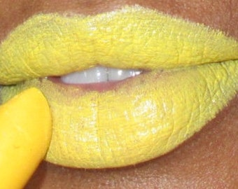 Yellow lipstick Spring collection