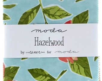 Hazelwood Charm Pack, Quilt Fabric, Pre Cut
