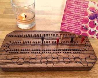 "The ""Bee Happy Honeycomb"" Board"