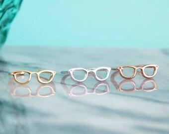 Cute Glasses Rings