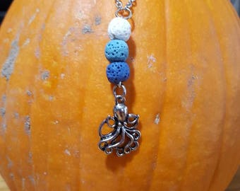 Handmade Under the Sea Diffuser Necklace for Essential Oils Made to Order
