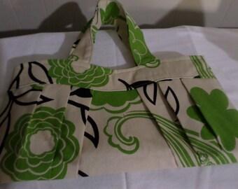 Pleated Tote Bag/Handbag
