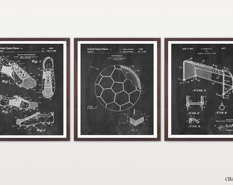 Inventions of Soccer - Soccer Patent - World Cup - World Cup Poster - Soccer Poster - Soccer Wall Art - Soccer Patent Print - Soccer Art