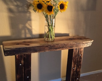 Rugged Honey Console Table (out of stock)
