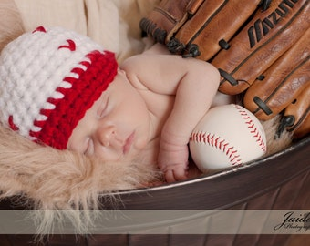 Newborn Baseball cap hat SALE  Photography Prop (color chart inside) available sizes nb, 1-3mos, 3-6mos, 6-12mos)