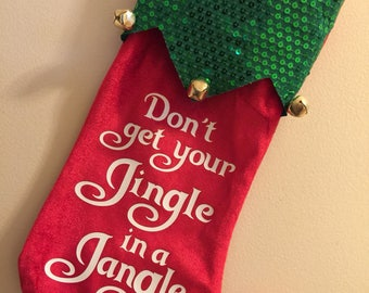 Don't get your Jingle in a Jangle Christmas Stocking