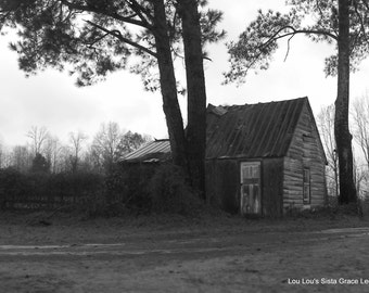 Old Barn on the side of the road in North GA