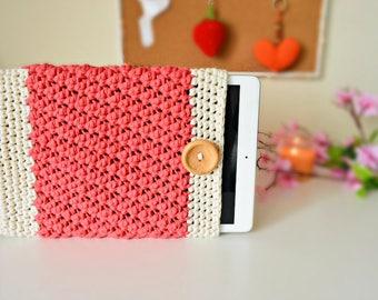 Crochet iPad Case - iPad Cozy Sleeve, Crochet iPad, Crochet Sleeve, Crochet iPad Cozy