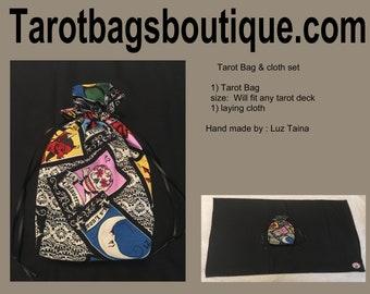 Tarot Bag & Cloth  set
