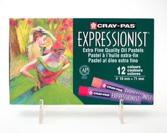 Expressionist oil pastels, set of 12
