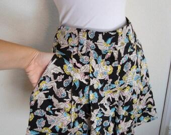 Sonia Rykiel - Cherubs Frolic Silk Shorts - french chic