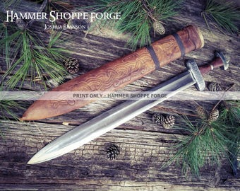 Drengscapr Viking Sword PRINT ONLY (past work)