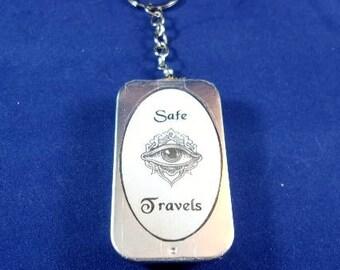 Safe Travels Tin Amulet