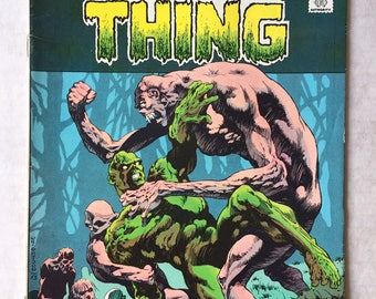 1974 SWAMP THING #10 - Bernie WRIGHTSON - D.C. Comics Horror Comic book