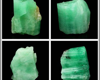 Small Size Natural Raw Emerald Gemstone Irregular Nugget Specimen - DY00280