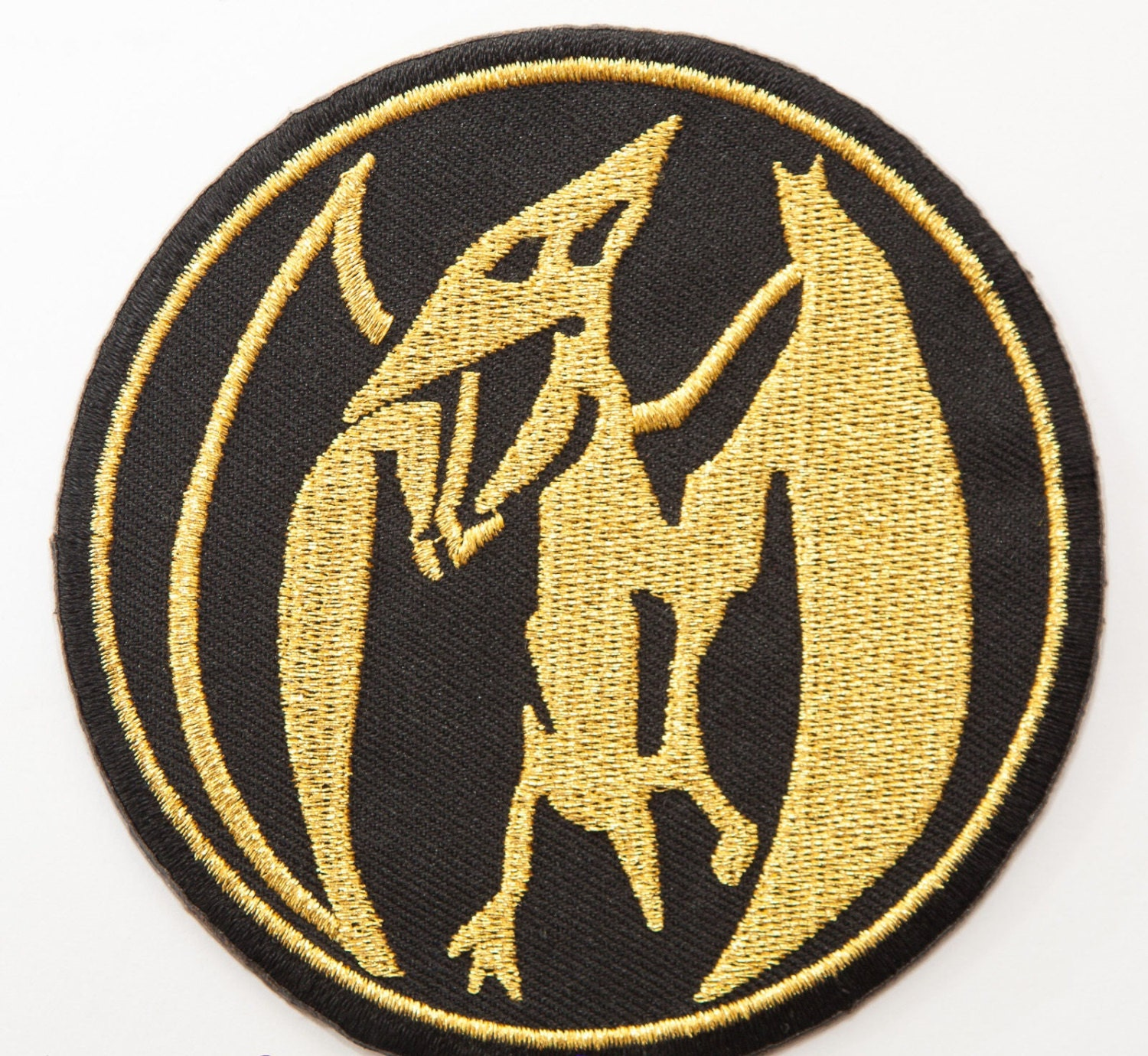 Pink Power Ranger Patch 3.5 Embroidered Iron on Badge