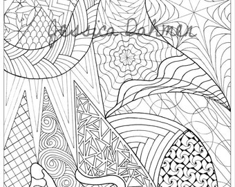 Coloring Pages Hand-drawn - 4 of 4