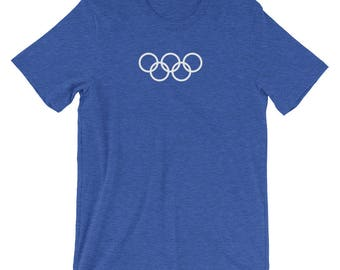 Minimalist Olympic Rings T-Shirt