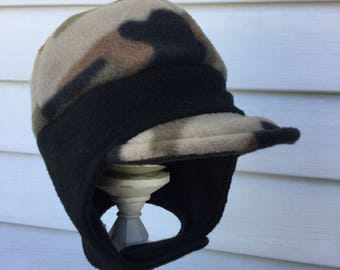 Boys camo hats