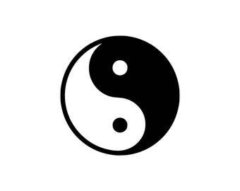 yin yang svg etsy rh etsy com Cool Yin Yang Designs Yin Yang Border