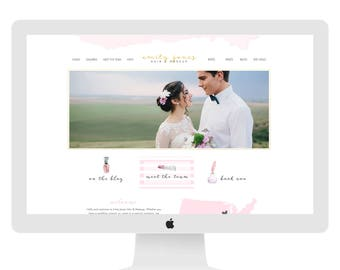 Wix Website Template, custom website design, hair and makeup website, hairstylist website, fashion blogsite, fashion website, hair, 4859