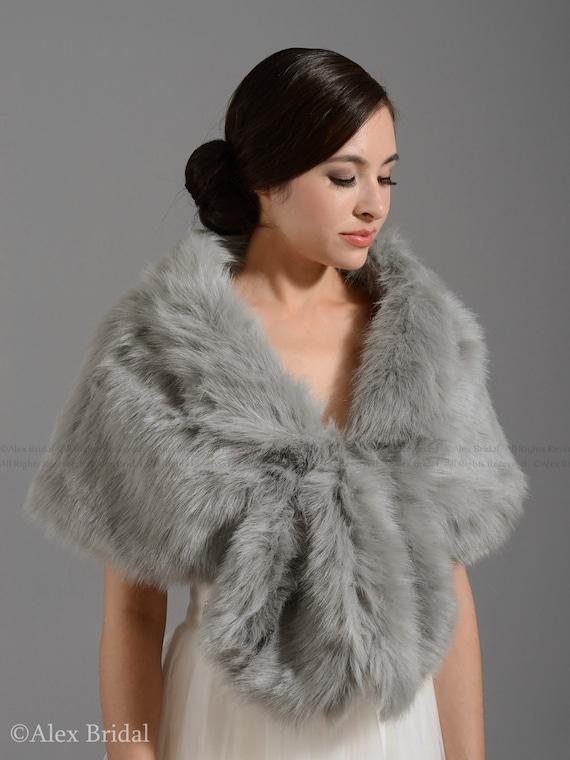 Faux Fur Stoles and Wraps