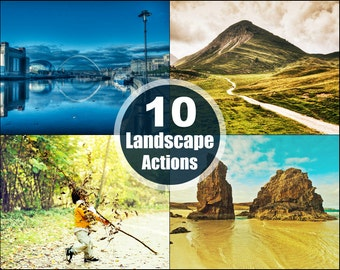 Landscape Photoshop Elements Actions