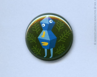 "Wanderling 1"" Pin-Back Button"