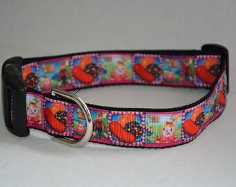 Personalized Dog Collar - Candy Crush Candy