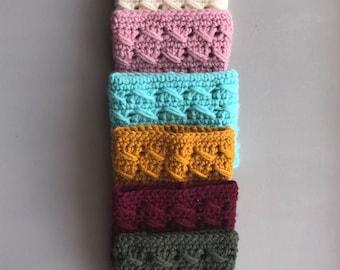 Crochet Coffee cozy/ Iced coffee cozie /Reusable coffee sleeve/ready to ship