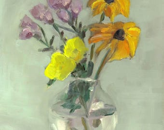 Still Life with Two Yellows
