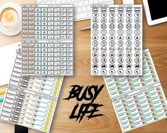 Busy Life Sticker Series