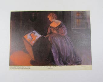 The Love That Keeps This Old World Sweet Art Print Warde Traver Mead Johnson and Company Unframed