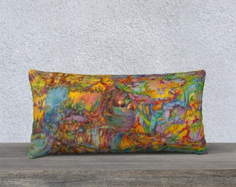 Portals of the Cosmic Realms long pillow case