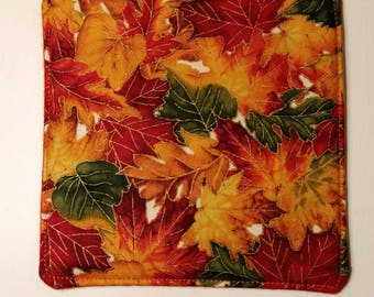 Coasters, Fabric Coasters, Fall Decor, Thanksgiving, Quilted Coasters